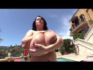 Leanne Crow Tiny Red Bikini 2 erotic fetish playboy model модель milf boobs tits большая грудь