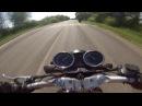 Безбашенная езда на мотоцикле