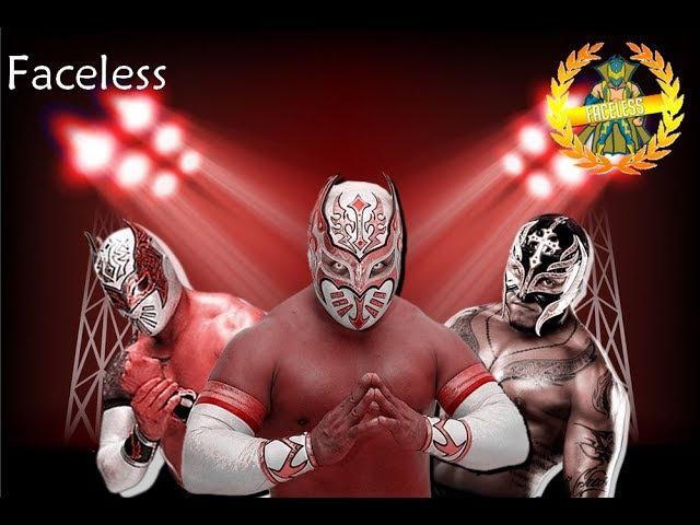 WWE/AAA Myzteziz Rey Mysterio and Sin Cara