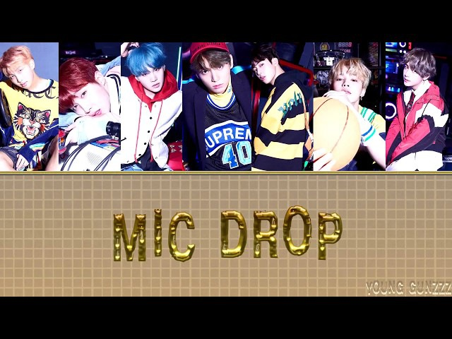 [RUS SUB] BTS (방탄소년단) - MIC Drop (from LOVE YOURSELF:Her)(рус.саб)(karaoke)[FSG Young Gunzzz]