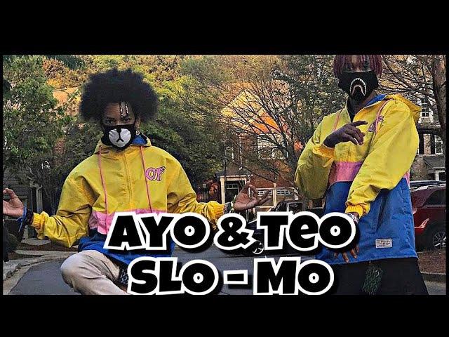 Ayo Teo In Slow Motion !! (Learn Every Dance Move) @shmateo_ @ogleloo shmateo ayoteo