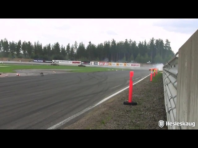 Toyota Supra's Drift Barely Survived - God's Close Call