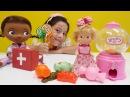 DOKTOR OYUNLARI Dila Nisa ve Maşa şekerden KÖTÜ oldular yardım ediyor