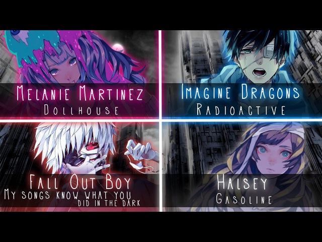 Nightcore [LANA THE SATAN] ↬ Melanie Martinez, Halsey, Imagine Dragons, FOB [Switching Vocals]
