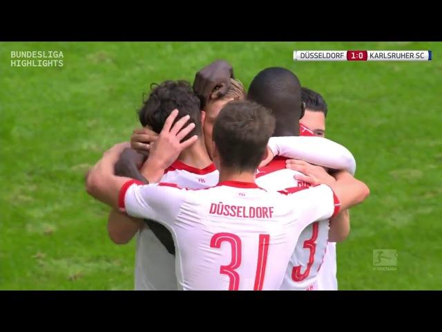 Фортуна Дюссельдорф vs Карлсруэ 01 10 2016 raport 720p