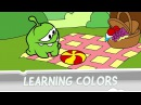 Learning Colors with Om Nom - Mad Tea Party