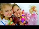 Лучшие видео youtube на сайте main- БАРБИ - Распаковка Куклы. Русалка и мыльные пузыри. Ксюша, Настя устраивают М