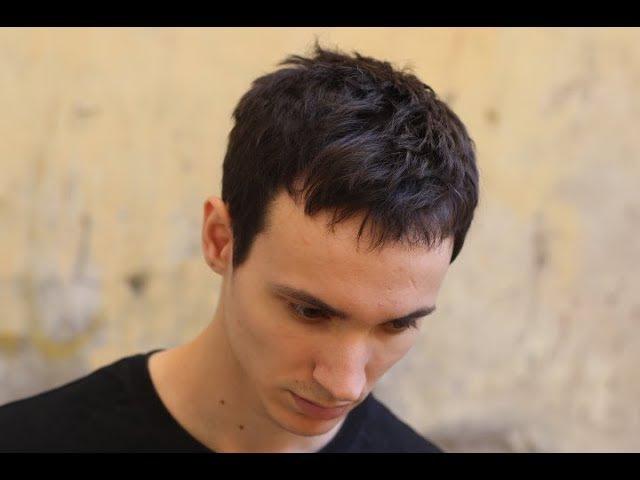 Текстурная мужская стрижка/Урок для парикмахеров/Мастер класс по мужским стриж ...