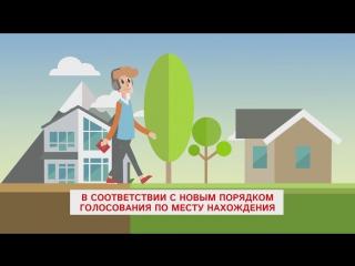 Как проголосовать на выборах Президента России по месту нахождения, а не по месту регистрации?