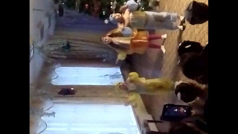 танец восточных красавиц 2018 в д/ с Солнышко