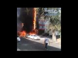 Пожар в гостиничном комплексе Торн Хаус Ростов