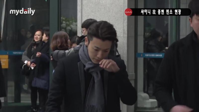 설리(Sulli)-크리스탈(Krystal), 故 샤이니 종현(Shinee Jonghyun) 빈소 조문 무거운 마음 [MD동영상]
