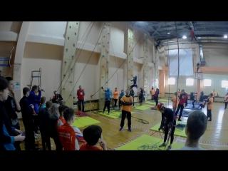 группа 3 класс- Кузнецова,Смирнова,Комкова,Кондратьева -28.01.2018- 2 место