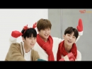 [BTS] Wanna One за кадром съёмки для Mexicana Chicken (28.12.17)