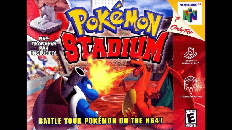 Прохожу Pokemon Stadium (Nintendo 64)