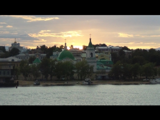 До Астрахани на т/х