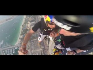 Прыжок с небоскреба в Думае. GoPro. Dream Jump - Dubai 4K