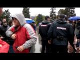 Задержания в Самаре на митинге 7 октября.