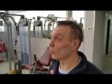 Тренировки в СК Салют Гераклион. Фитнесс-тренер Наталья. Занятие по тяжелой атлетике