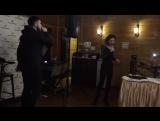 Karbeat и Соня Берия в ресторане отеля