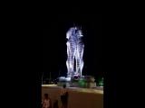 Движущаяся статуя любви в Батуми, Али и Нино