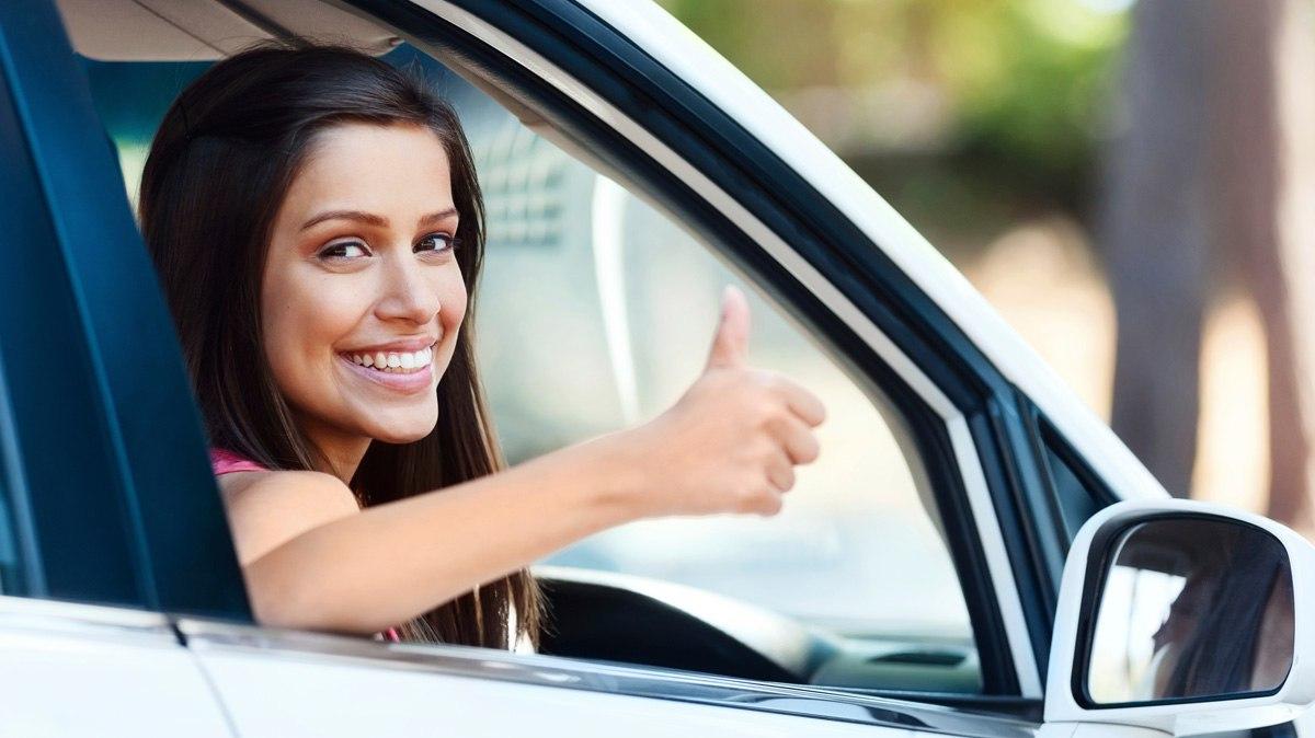 Картинки начинающему водителю девушке