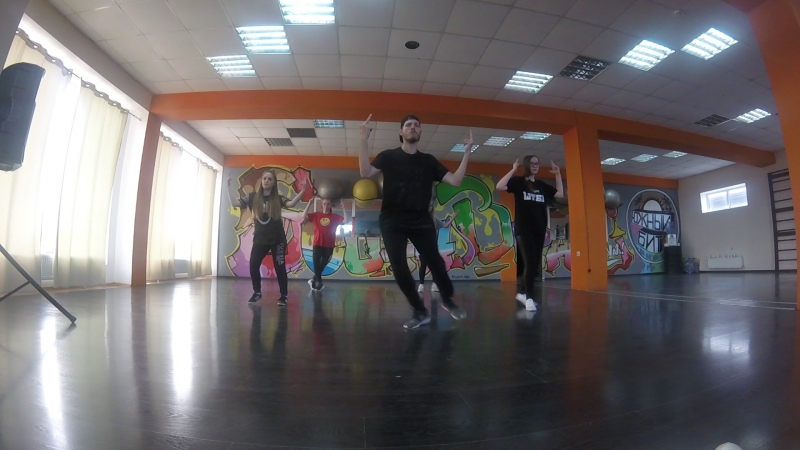 HIP-HOP CHOREO BY ASTRAKHANTSEV VYACHESLAV (Select 1) Ace hood on my momma