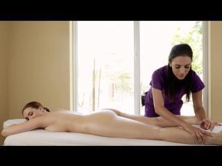 Siri Jelena Jensen Volleyball Mishap Girls [Redhead, Oil, Massage, 1080p]