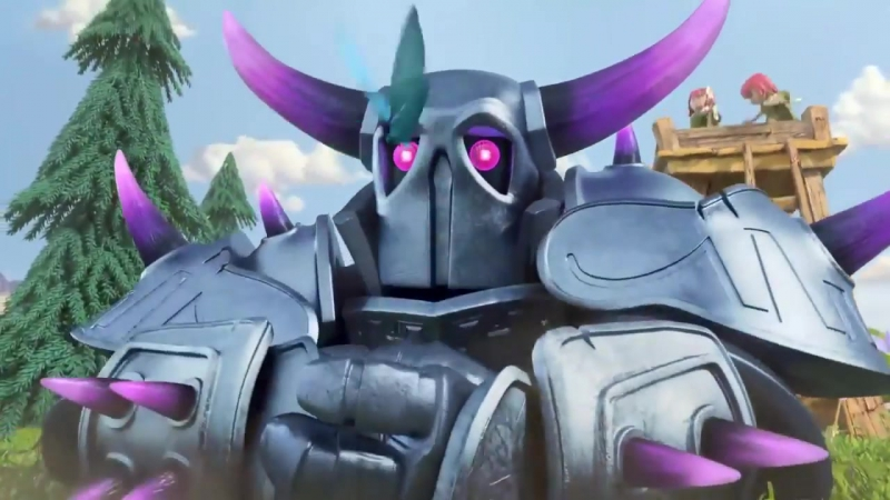 Clash of clans P E K K A Animated TV trailer, Clash of clans мультик ПЕККА на ру.mp4