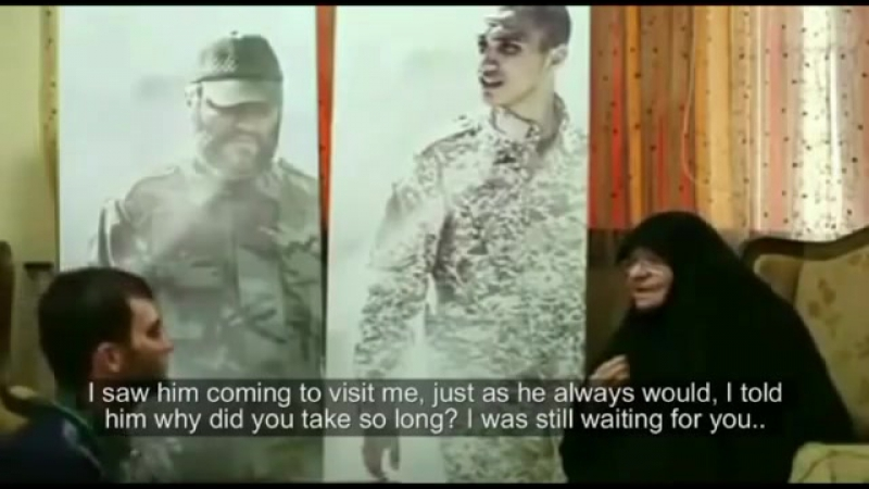 Imad Mughniehs mother sees her grandson in a Dream - (English Subtitles)