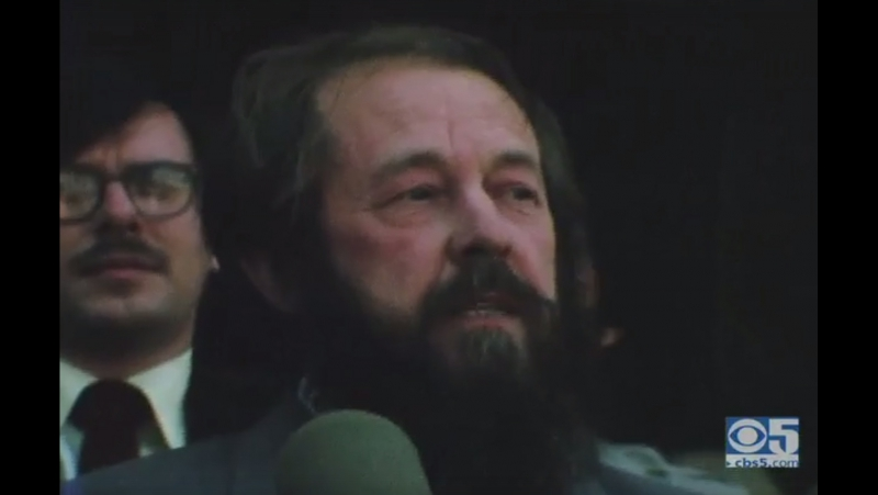 Aleksandr Solzhenitsyn at Stanford - San Francisco Bay Area