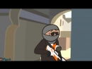 [Keyush Animation] CS ANIMATION: DE_DUST2 (COUNTER-STRIKE PARODY)