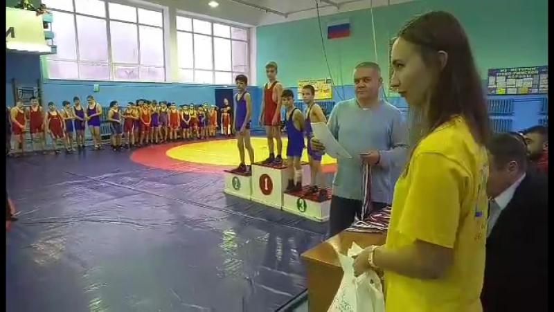 ЦПС на соревнованиях по греко-римской борьбе