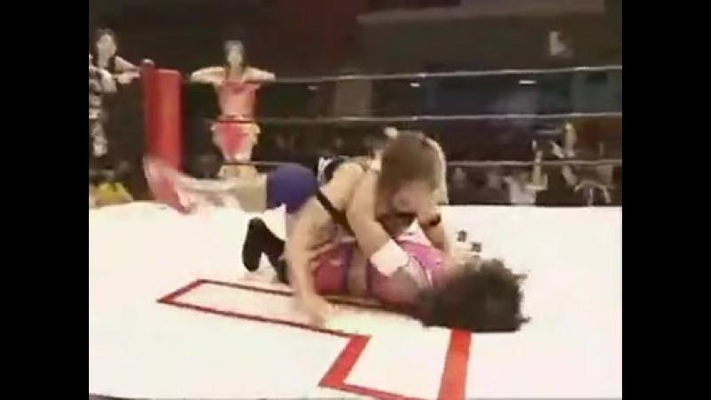 Arisa Nakajima Pinky Mayuka Yumi Ohka vs Hiroyo Matsumoto Ryo Mizunami Io Shirai JWP 9 23 08