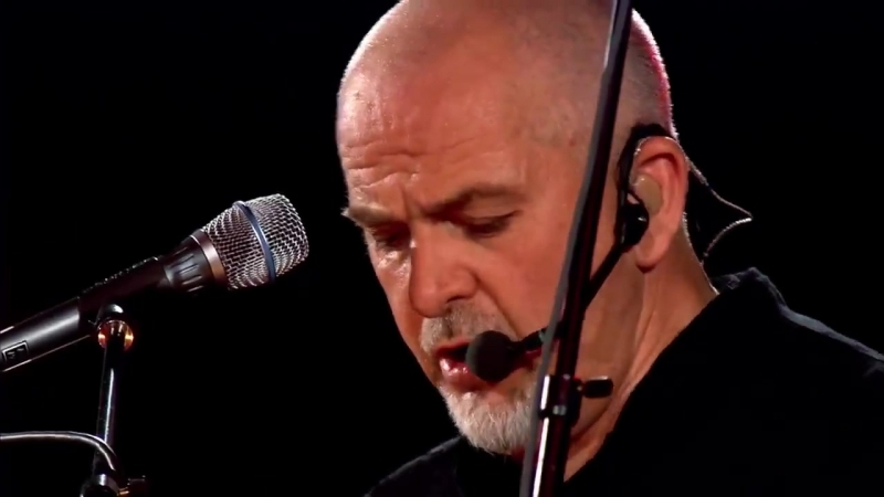Peter Gabriel (ex-GENESIS) - Red Rain (The Growing Up Tour in Filaforum, Italy-2