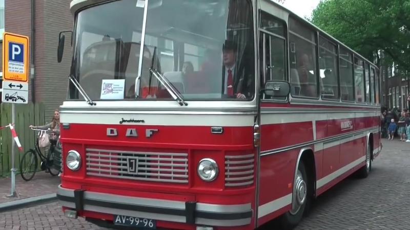 Dordt in Stoom 2016: De Museumbussen