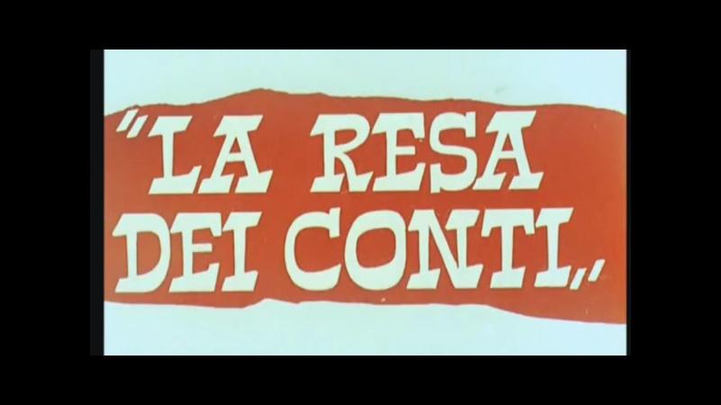 La Resa dei conti (1966) title sequence