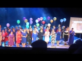 100 лет 5 школе. Заключительная песня. #ВидеоМИГ Таисия Эпанаева