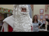 Здравствуй, Дедушка Мороз, борода из ваты.
