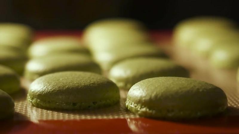 Matcha Green Tea Macarons foodporn