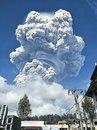 В Индонезии произошло извержение вулкана Синабунг.