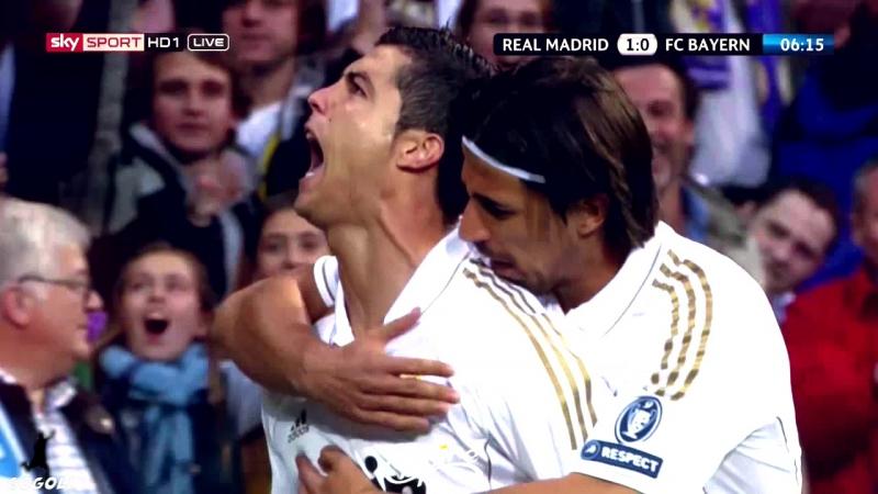 Ronaldo Vs Bayern Munich UCL 2012 Semi-Final   GOGOLI   Empire