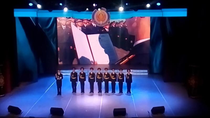 Время выбрало нас (выступление учащихся Специализированного лицея МВД на концерте, посвященном Дню милиции)