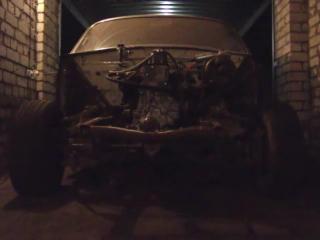 Первые испытания ТПА-1 на двигателе ЗМЗ-402 или работа автомобиля ГАЗ-3102
