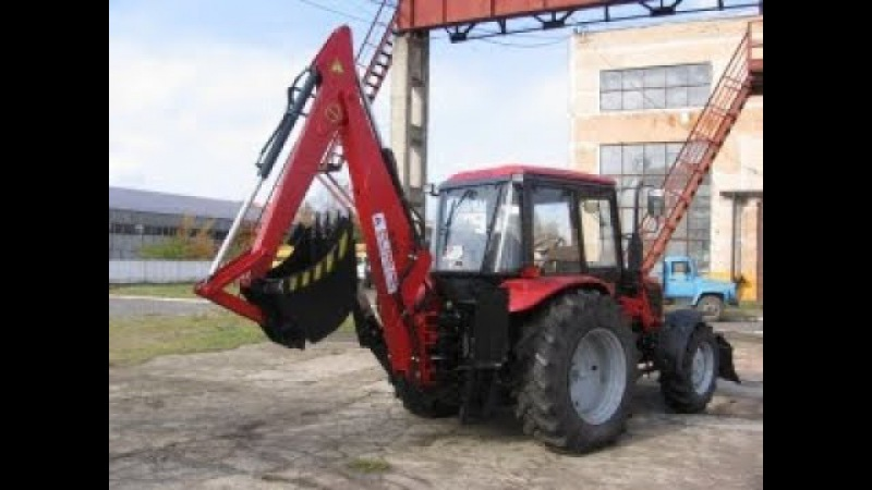 Экскаватор-бульдозер ЭО-2621 Беларус МТЗ-82,1 92П