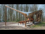Architectural Association students test the limits of timber in experimental woodland canopy