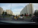Москва, Братиславская. Драка на дороге