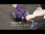 Dibea F6 2-in-1 Powerful Cordless Upright Vacuum Cleaner - GearBest.com