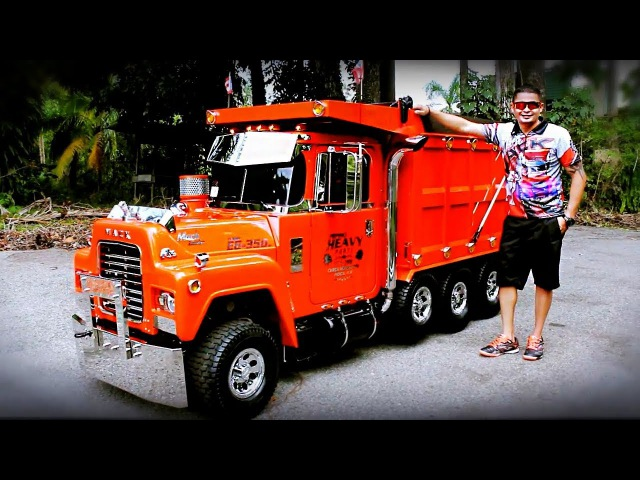 AWESOME MINI TRUCKS - Amazing Hand Made Mini Semi Trucks with Engine. part 2