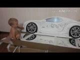 Восторг от покупки кровати машины Ауди А4. Конкурс, отзывы о продукции Мебелев.